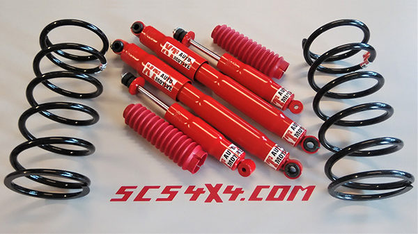 Assetto completo XT automotive SCS4X4 Terracan
