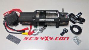 VERRICELLO XT 12000 12V PRO VERSION DYNEEMA SCS4X4