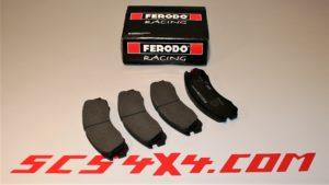 PASTIGLIE FERODO RACING SCS4X4