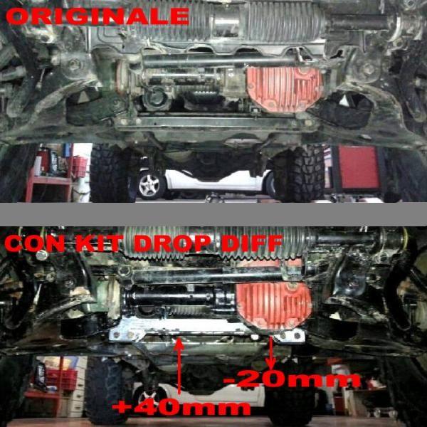 DROP DIFF PAJERO V20 SCS4X4.COM